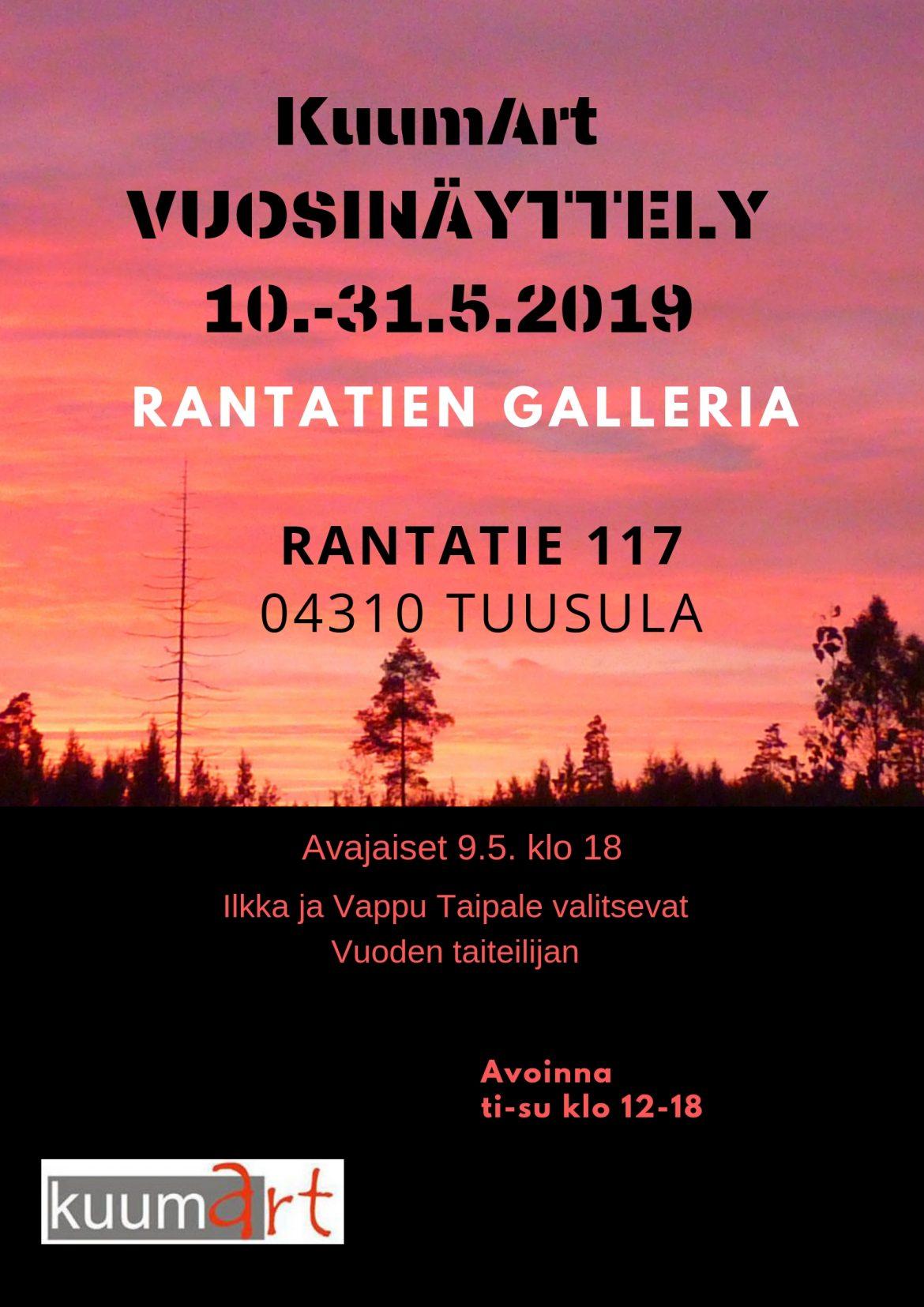Vuosinäyttely 19